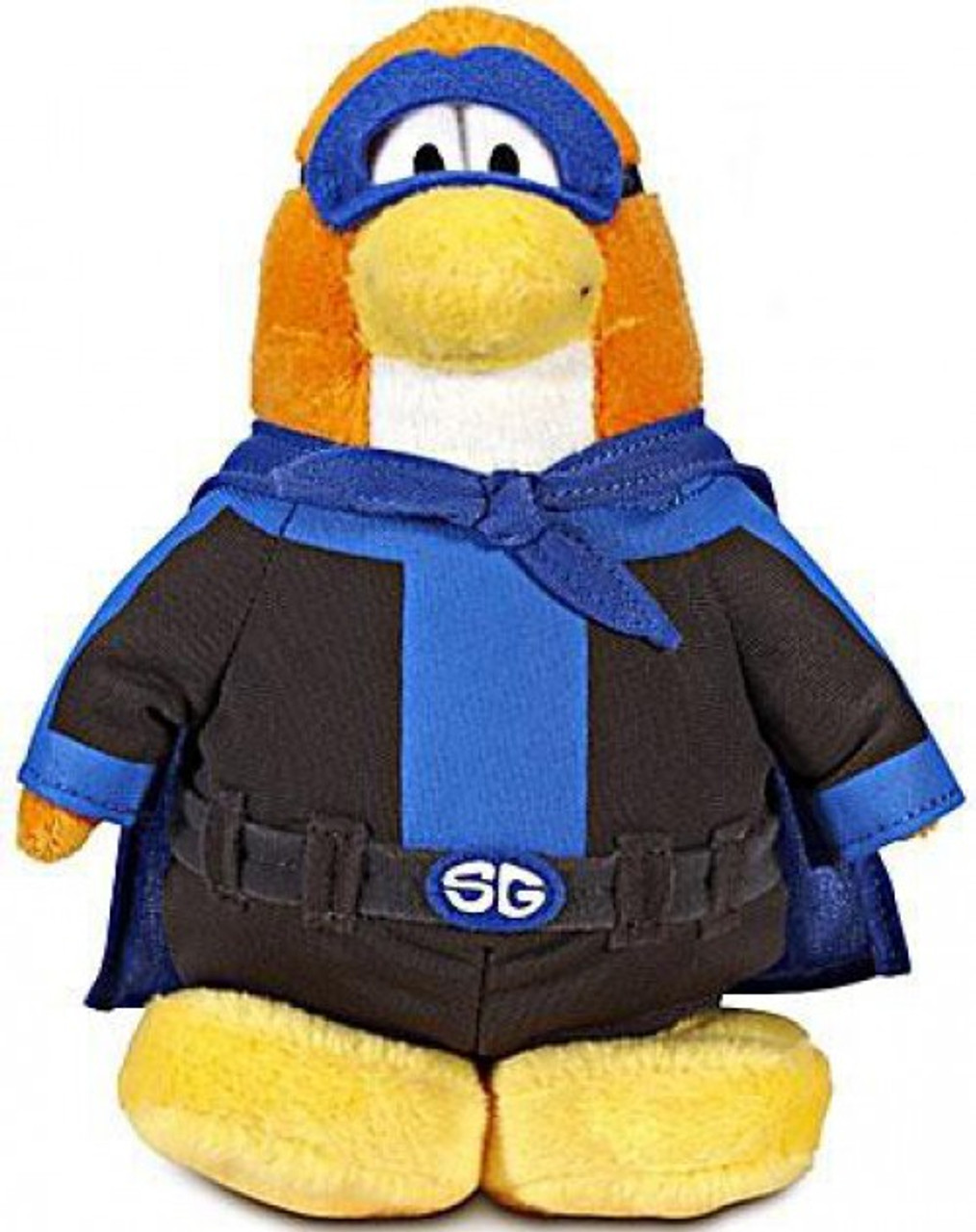 Disney Club Penguin 6.5 Inch Series 8 Plush Figure Girl Soccer Player Includes Coin with Code Jakks