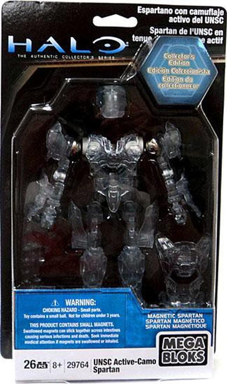 Collector/'s Edition  29764 Megabloks Halo UNSC Active Camo Spartan