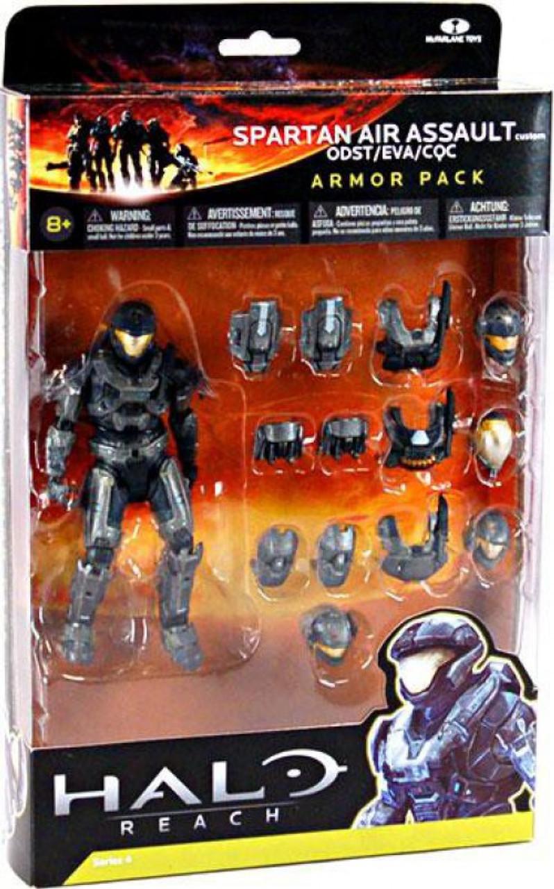McFarlane Toys Halo Reach Armor Packs Spartan Air Assault Custom Armor Pack  [Steel]