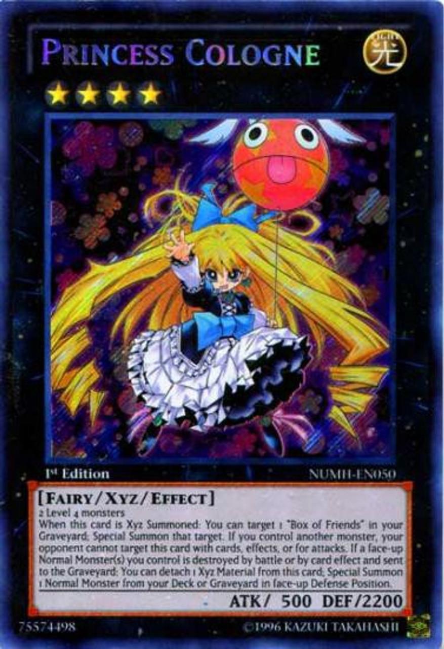 de 1 édition Yugioh! Princesse de Cologne Secret Rare
