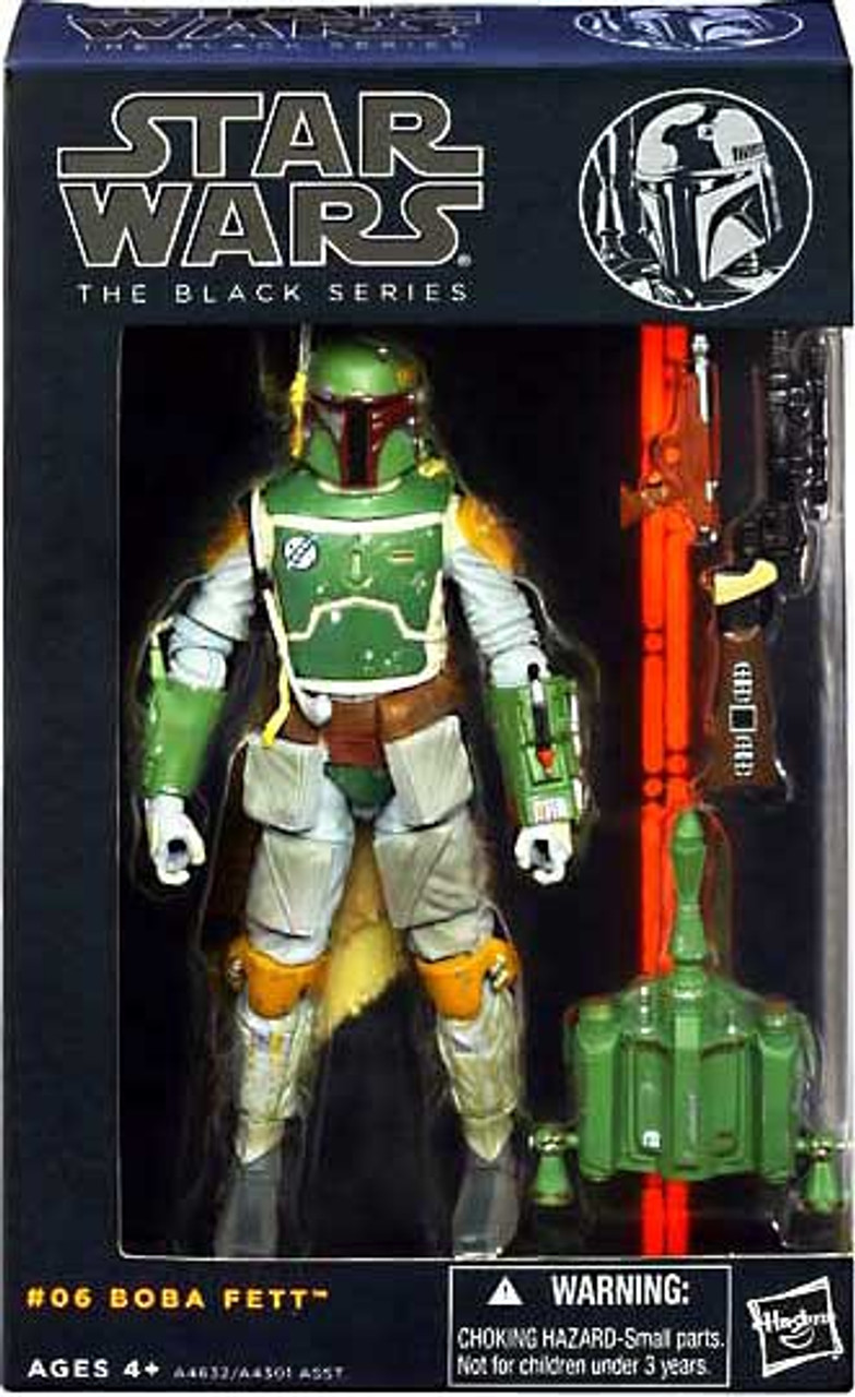 STAR WARS The Black Series #06 Boba Fett The Force Awakens Action Figure Hot