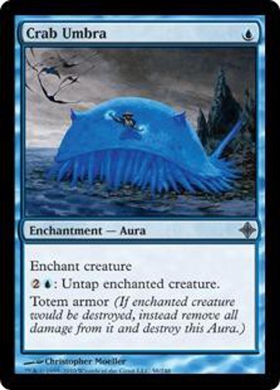 MtG Rise of the Eldrazi Uncommon Crab Umbra #58