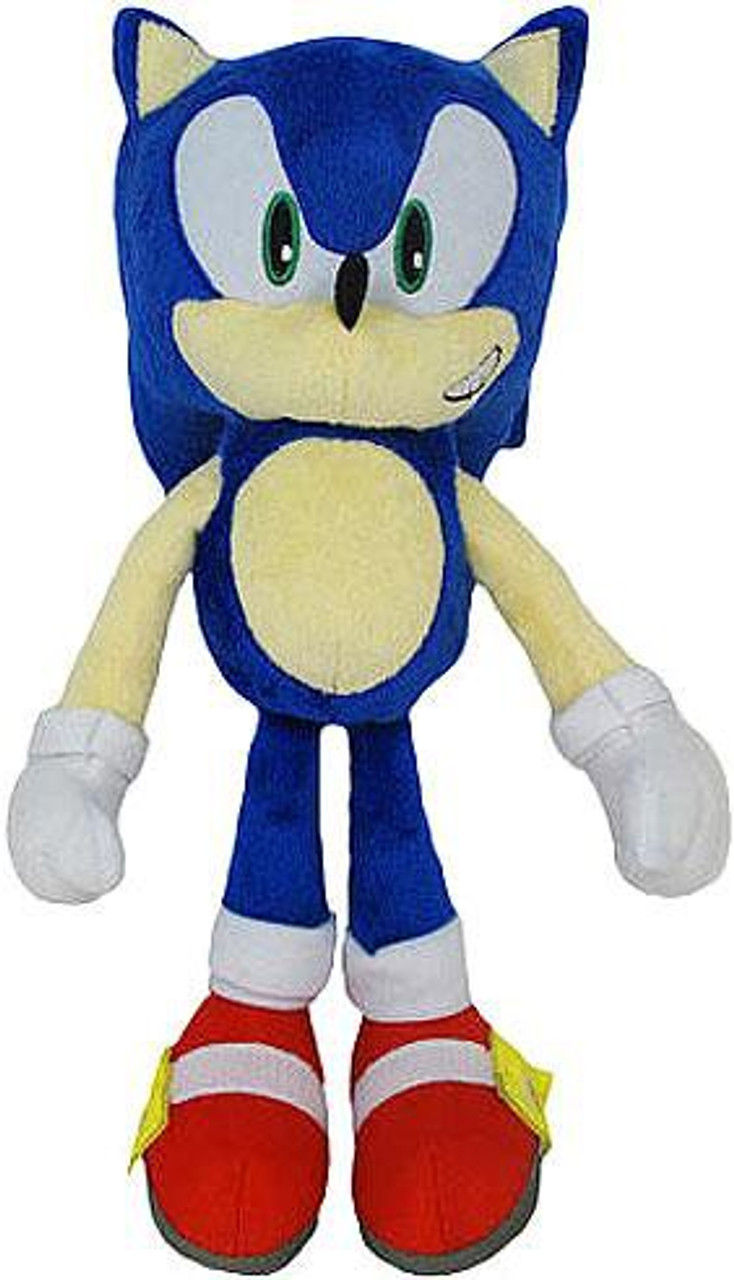 Sonic The Hedgehog 20th Anniversary Sonic 12 Plush Classic Jazwares Toywiz