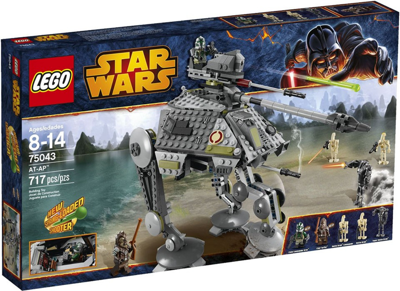 Lego Clone Commander Gree 75043 75151 Gray Lines on Legs Star Wars Minifigure