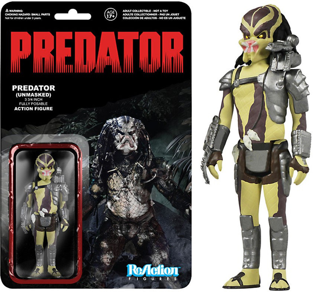 Arcade Version Funko Reaction Figure Predator Figure