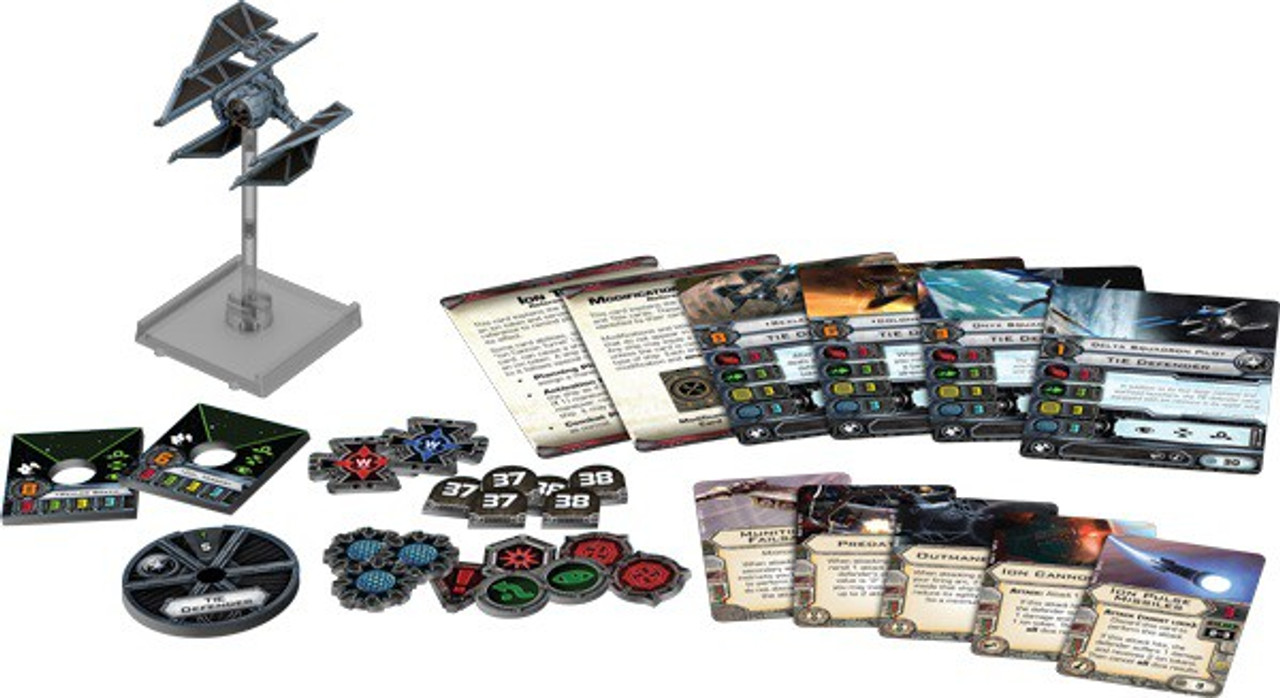 Xwing x wing Expansion Pack Nuovo TIE Defender X-wing