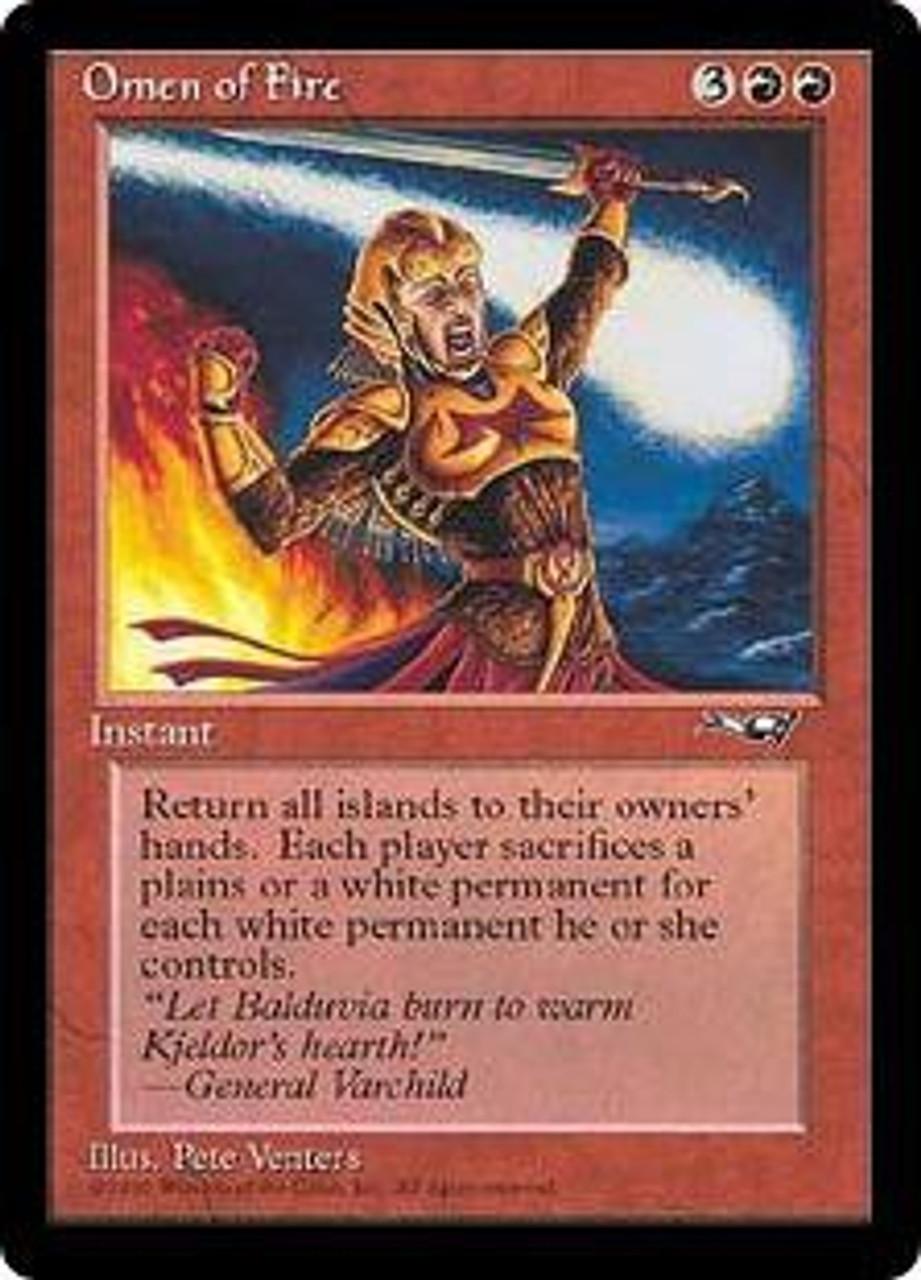 English 1 x MTG Lord of Tresserhorn Alliances Slightly Played
