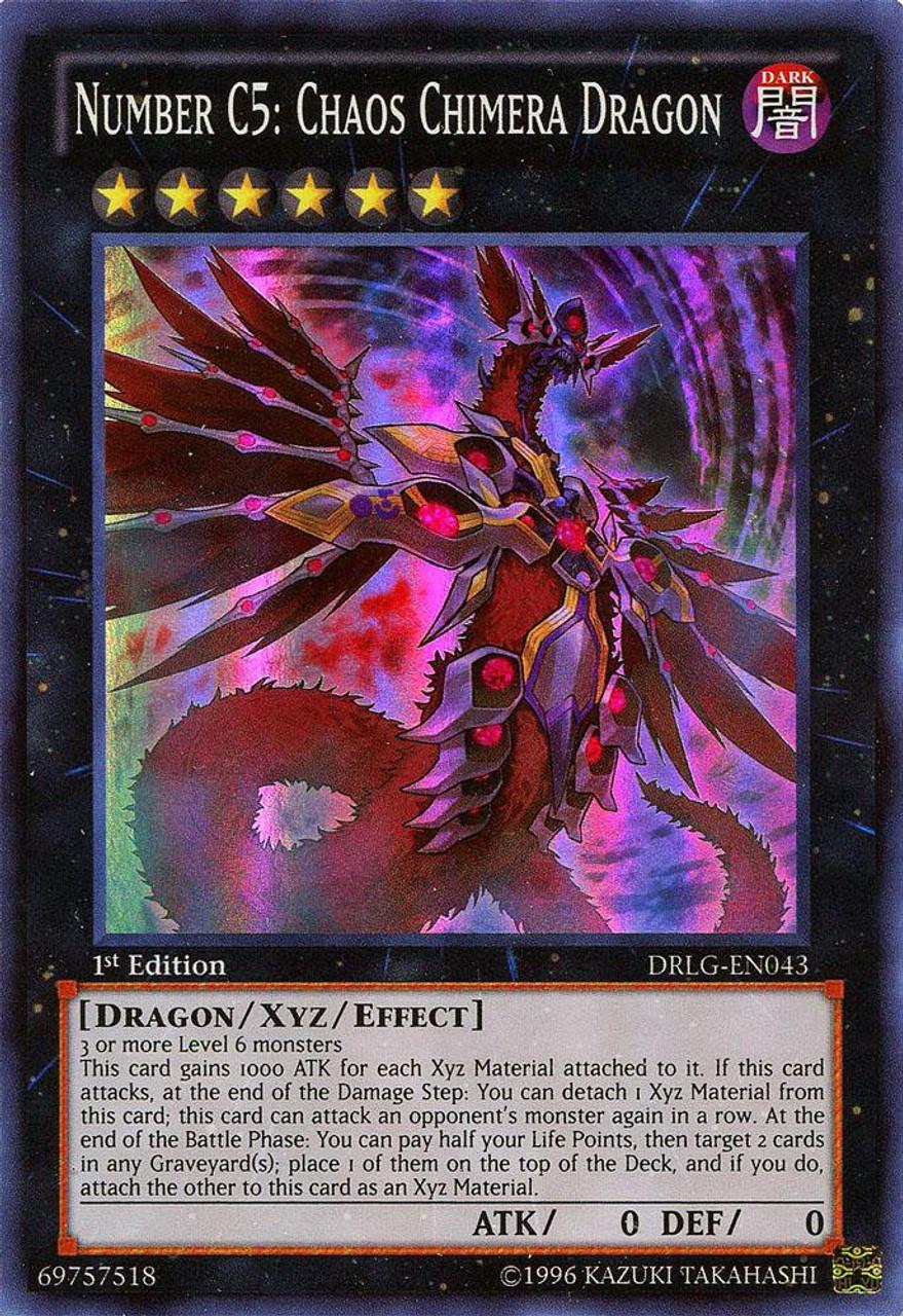 YuGiOh Dragons of Legend Single Card Super Rare Number C5 ...