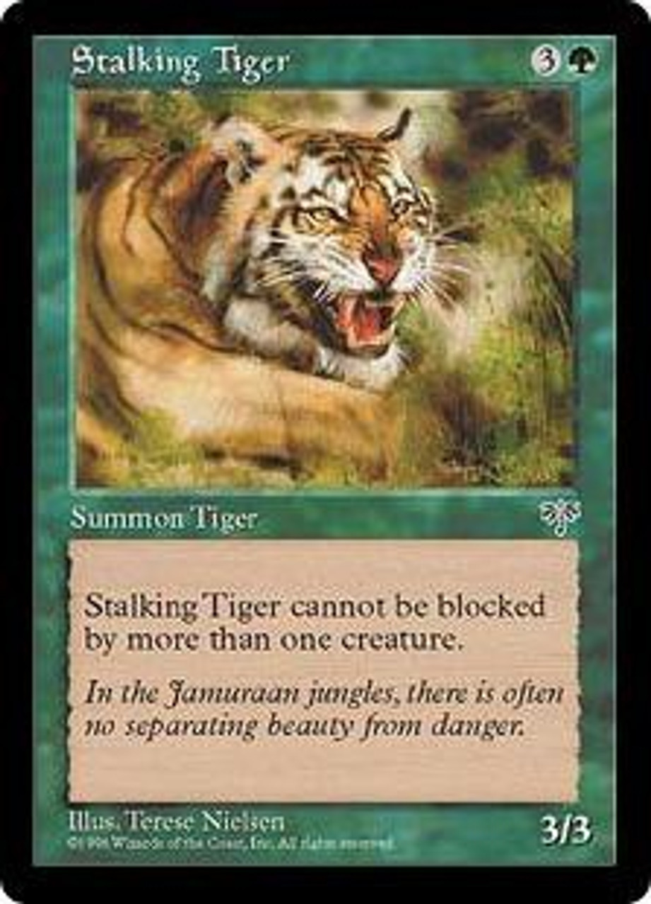 Stalking Tiger MTG MIRAGE