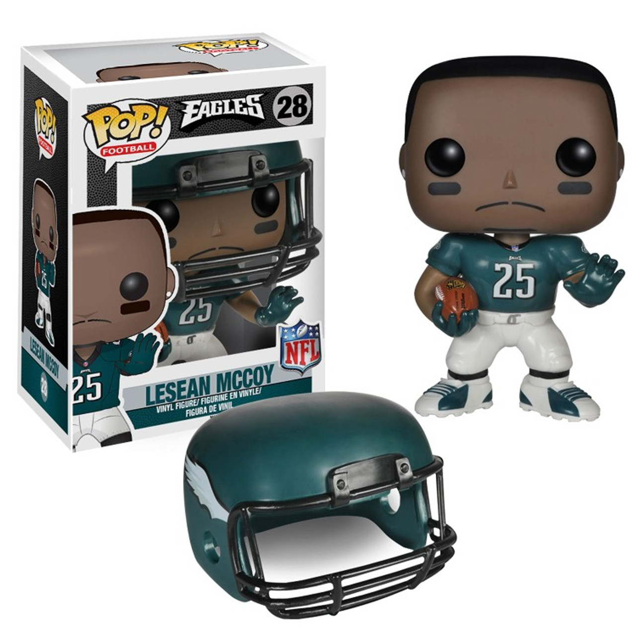 5f42e24d6 Funko NFL Philadelphia Eagles Funko POP Sports LeSean McCoy Vinyl Figure 28  - ToyWiz