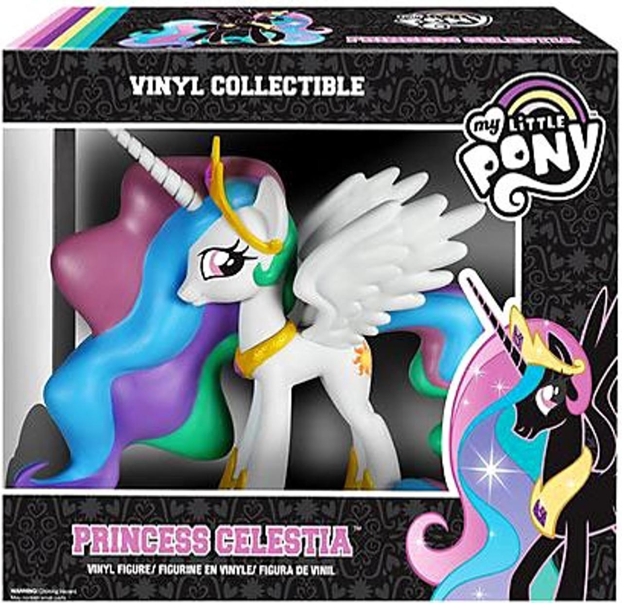 2076c4ea8ba Funko My Little Pony Vinyl Collectibles Princess Celestia Vinyl Figure -  ToyWiz