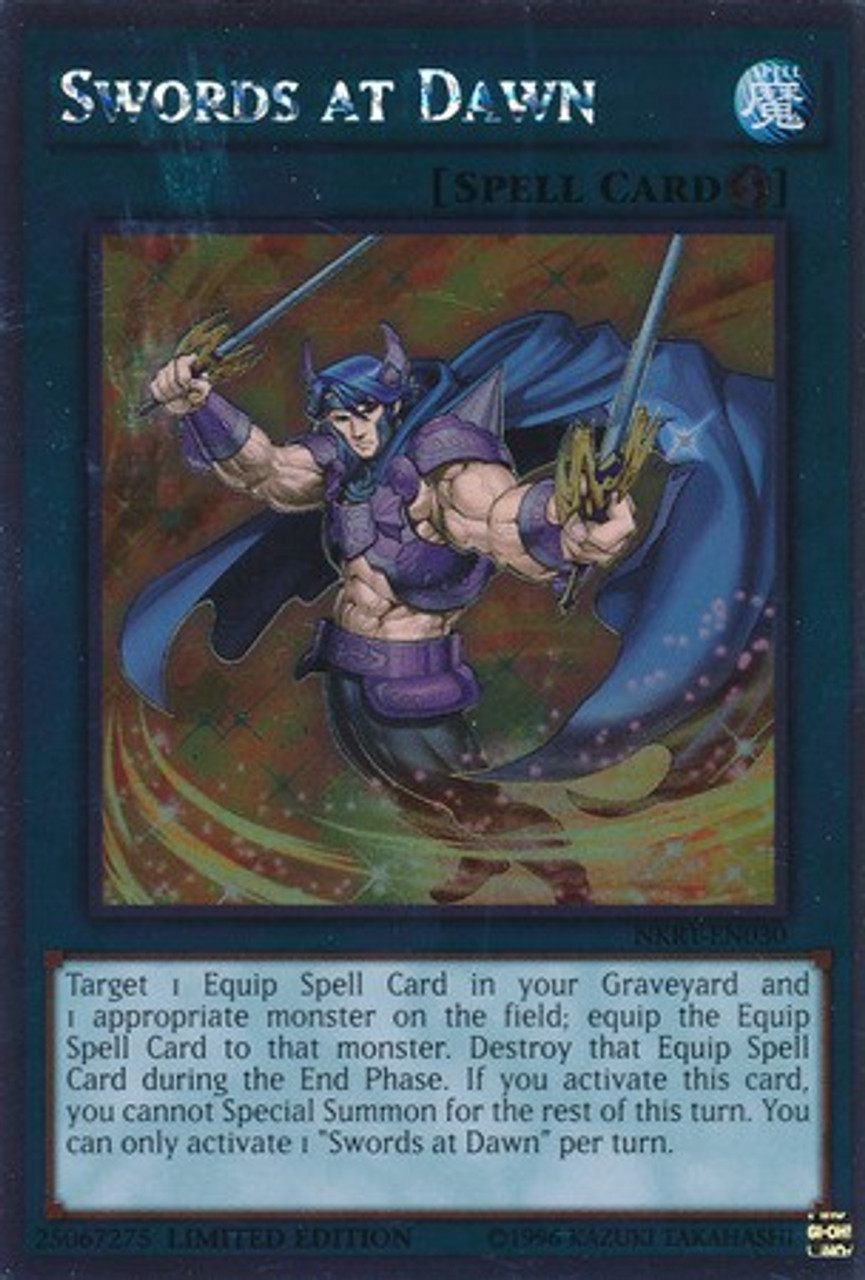 Knights Of The Round Table Swords.Yugioh Noble Knights Of The Round Table Platinum Rare Swords At Dawn Nkrt En030