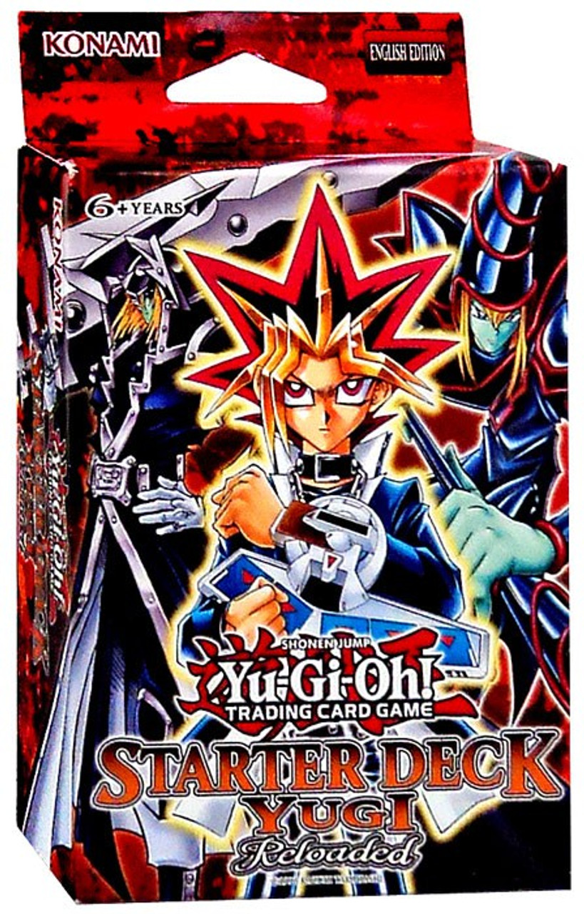 Yugioh Trading Card Game Yugi Reloaded Starter Deck Unlimited Edition Konami Toywiz