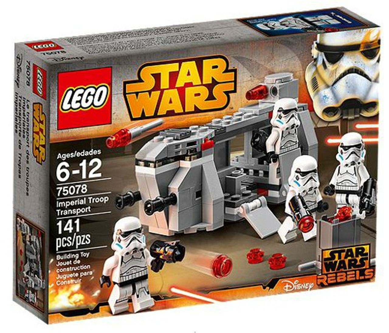 Lego Star Wars Rebels Imperial Troop Transport Set 75078 Toywiz