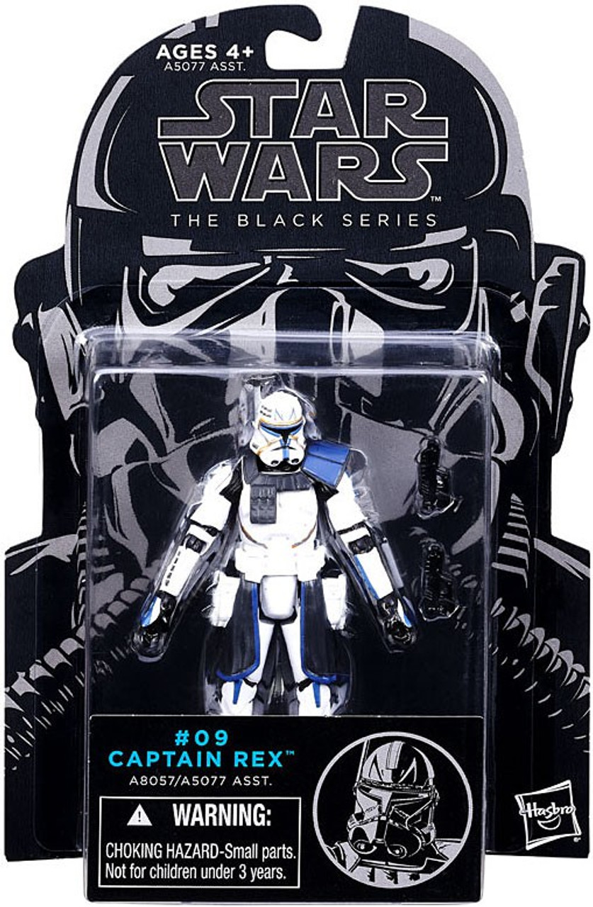 Star Wars The Clone Wars Black Series Captain Rex 375 Action Figure