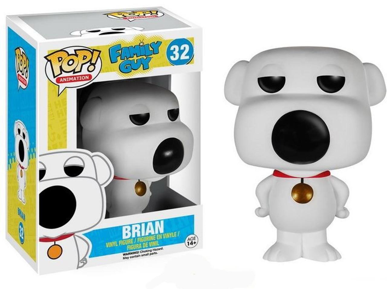 funko pop griffin  Funko Family Guy Funko POP Animation Brian Griffin Vinyl Figure 32 ...