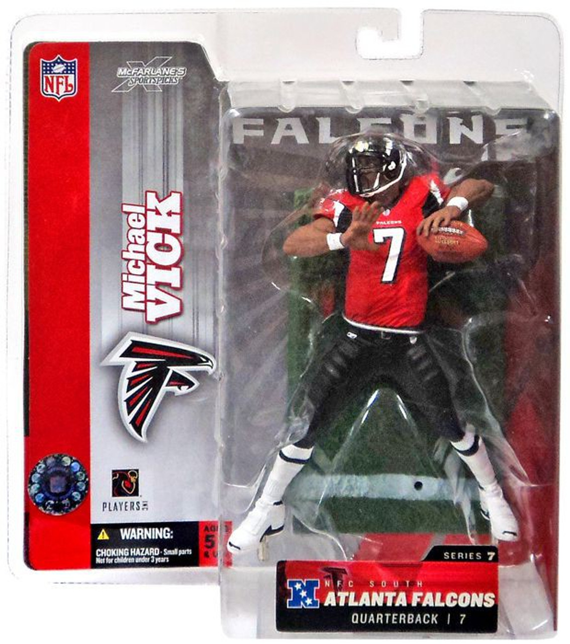 McFarlane Toys NFL Sports Picks Series 7 Action Figure Michael Vick Atlanta ... PE-8YY8-Z1XM