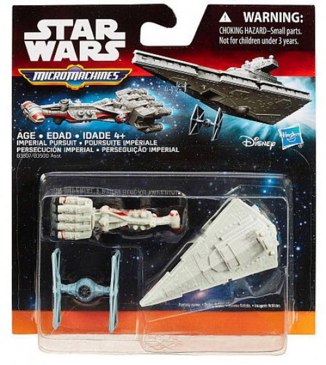 STAR WARS REBELS MICRO MACHINES INQUISITOR/'S TIE FIGHTER