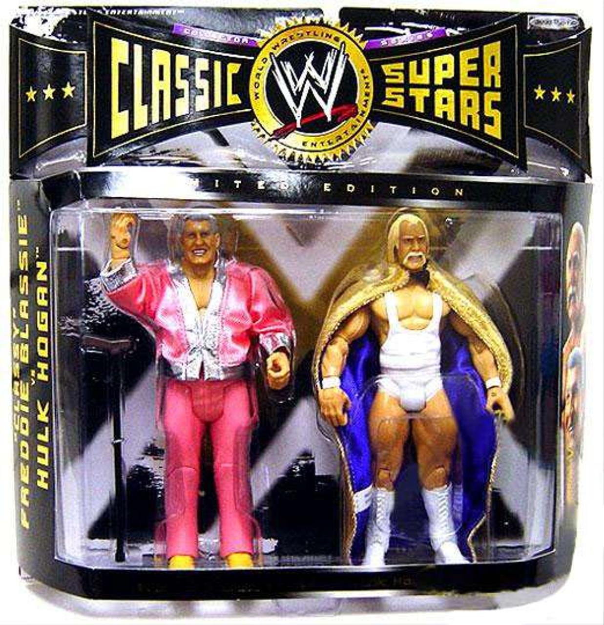 Ric Flair Wrestlemania VIII Heritage Series Figure WWE *Sealed Damaged Package*