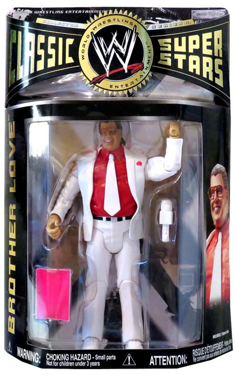 Wwf hasbro WWE jakks custom Brother love head Wrestling Figures