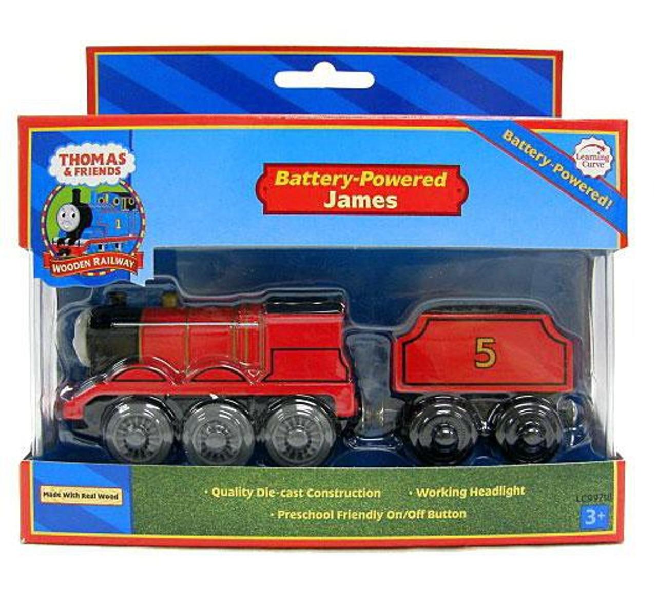Thomas Friends Wooden Railway James Train Tomy Toywiz