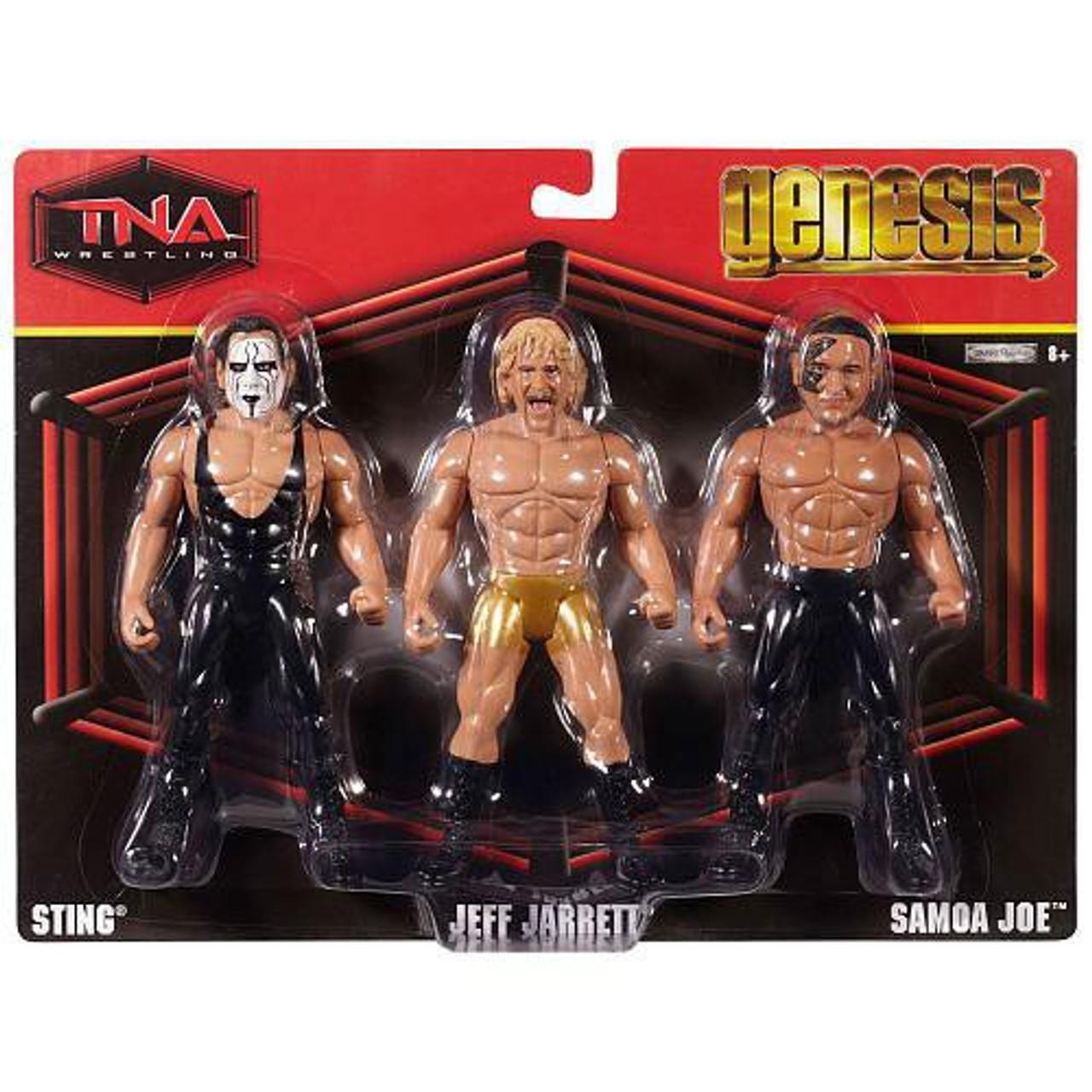 TNA WWE SAMOA JOE  Wrestling Figure Jakks