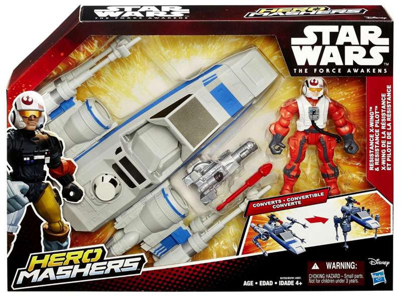 Star Wars Boba Fett Hero Mashers Figure Hasbro RARE The Force Awakens NEW
