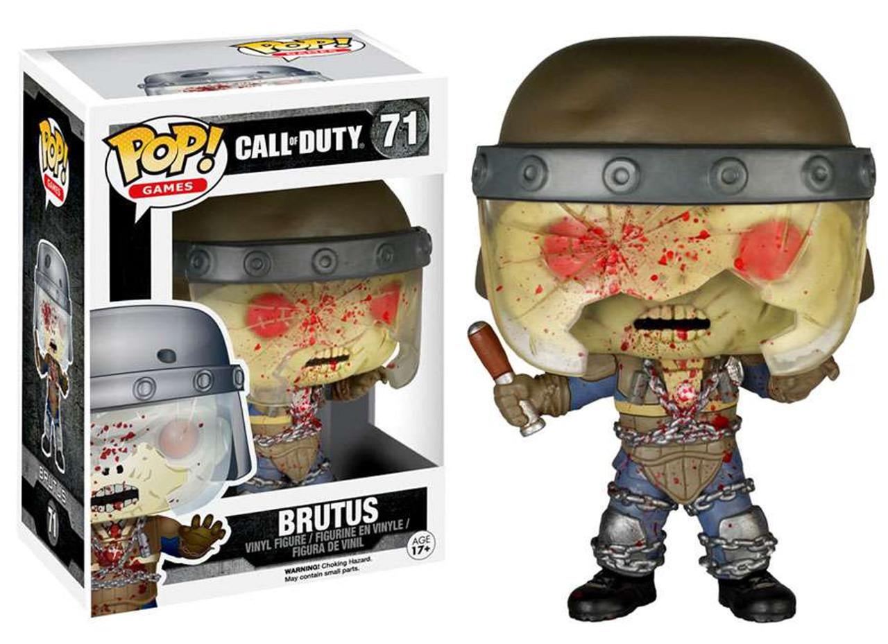 Nouveau Call of Duty Brutus Pop Vinyl Figure #71 Pop Games Funko Officiel