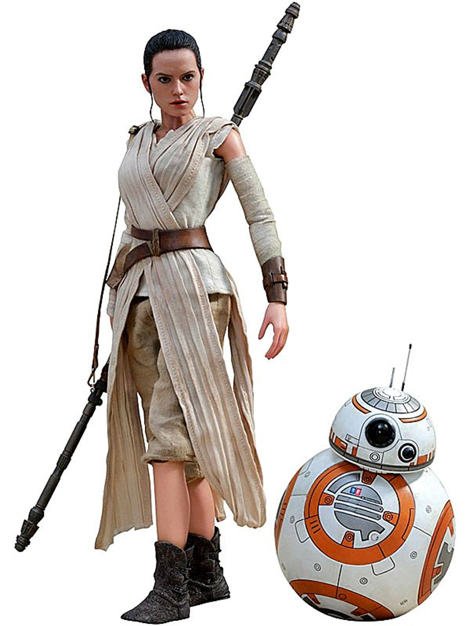 Shoulder pad Hot Toys 1//6 Scale Star Wars MMS337 Rey and BB-8