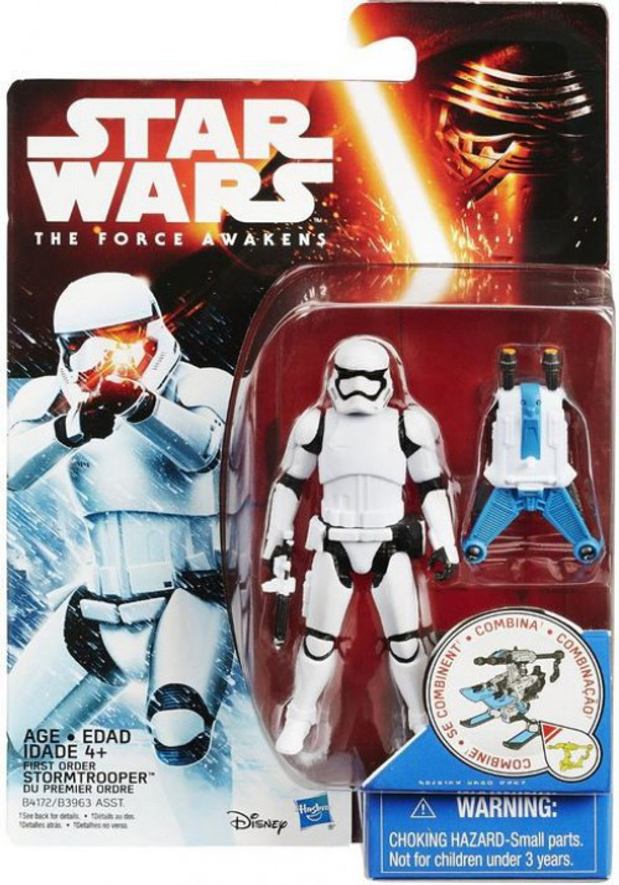 "Lot of 5 Star Wars The Force Awakens Stormtrooper 3.75/"" Loose Action Figure"