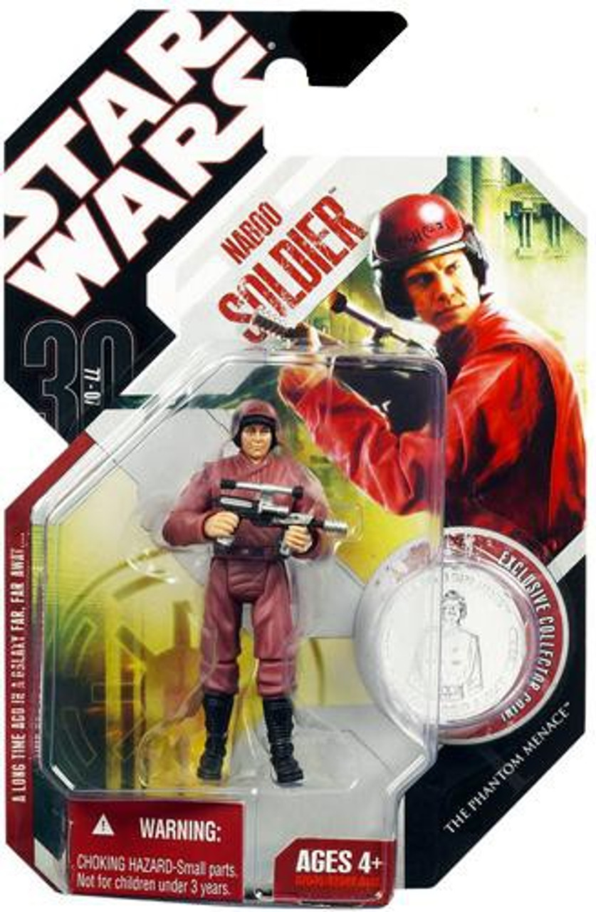 Star Wars 30th Anniversary Collection Naboo Soldier Action Figure