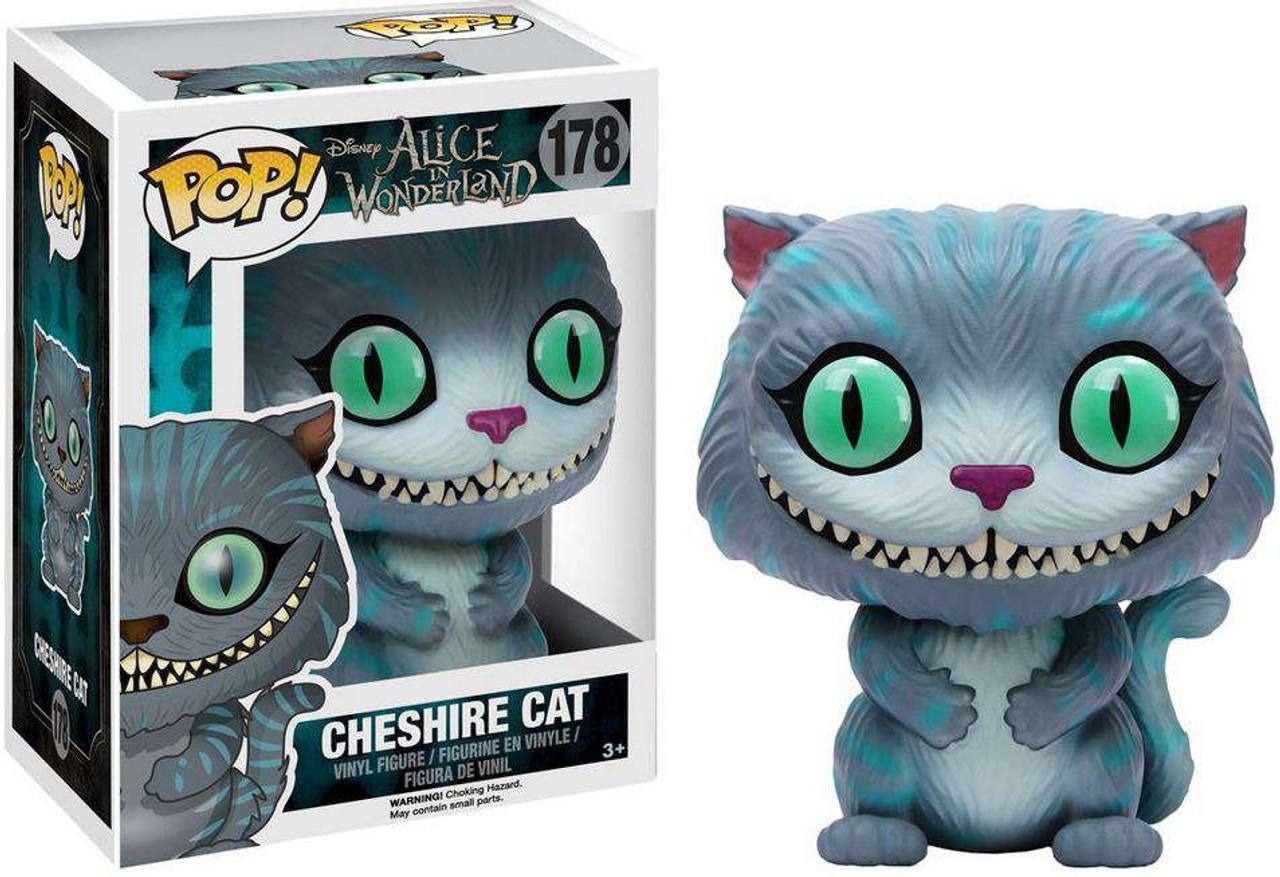 ce42fbb9c79 Funko Disney Alice in Wonderland Funko POP Disney Cheshire Cat Vinyl Figure  178 Regular - ToyWiz