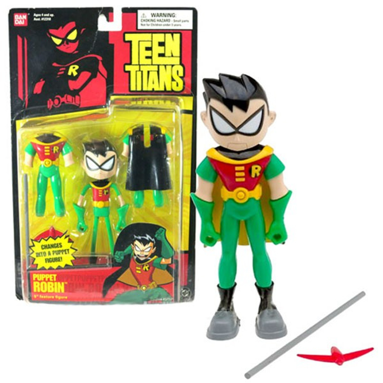 Robin Action Figure Bo Staff Teen Titans Go