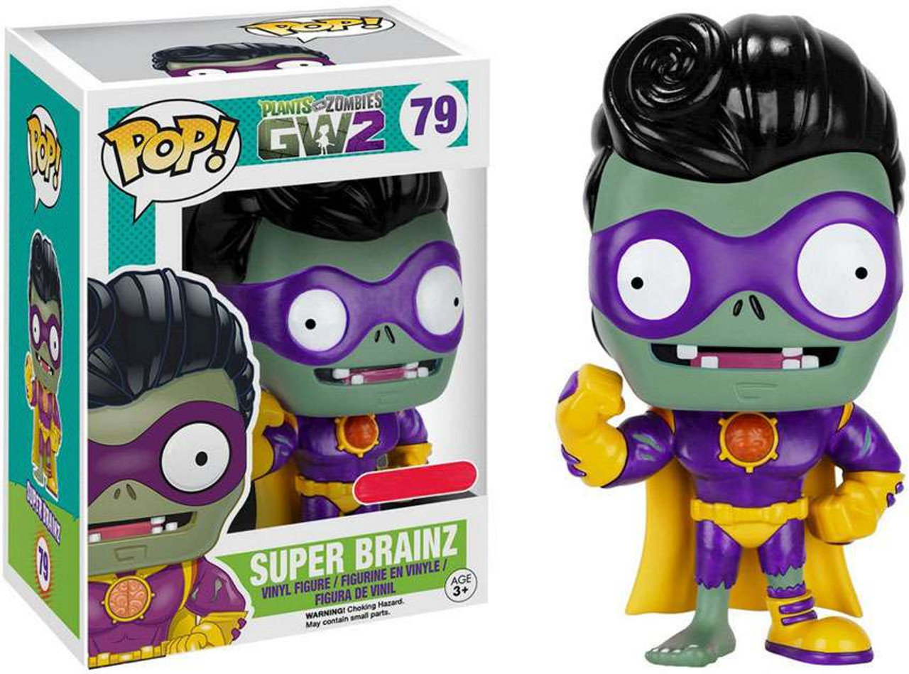 Funko POP Plants vs Zombies Garden Warfare 2 Super Brainz 79