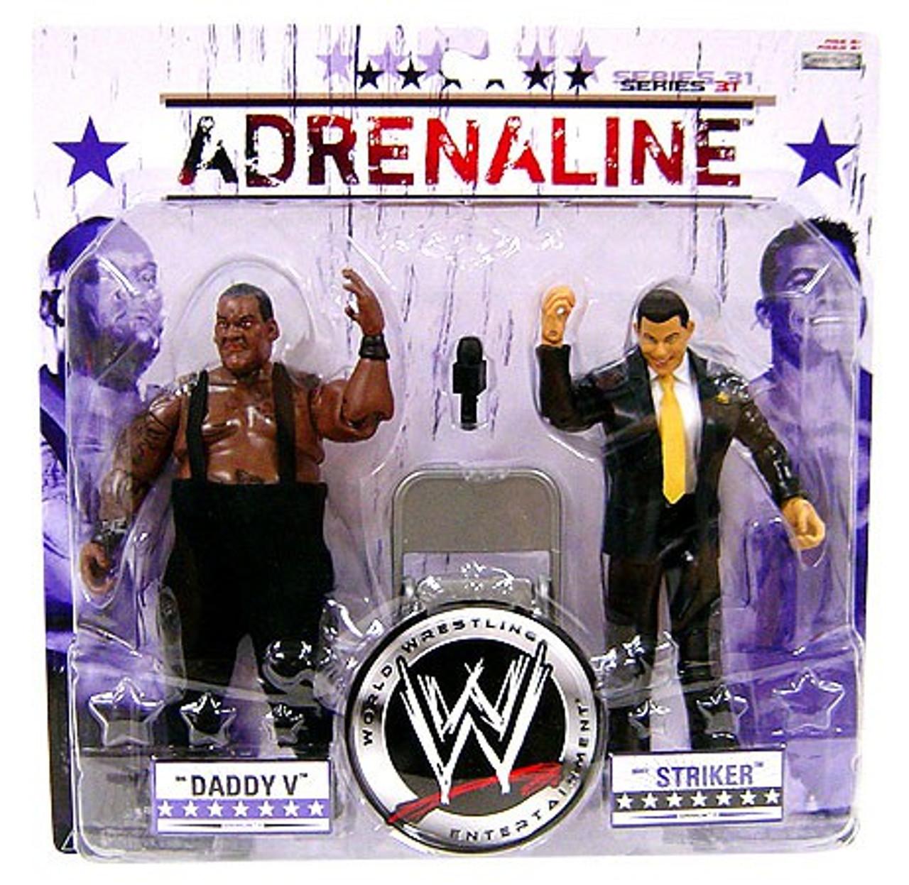 Wwe Wrestling Adrenaline Series 31 Big Daddy V Matt Striker
