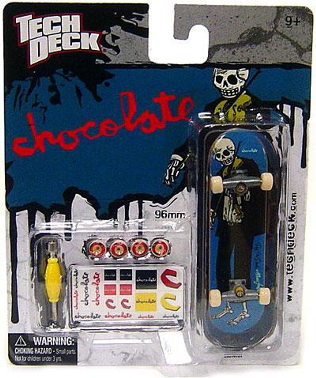 TECH DECK SINGLE  PACK CHOCOLATE  96MM FINGERBOARD SERIES 5