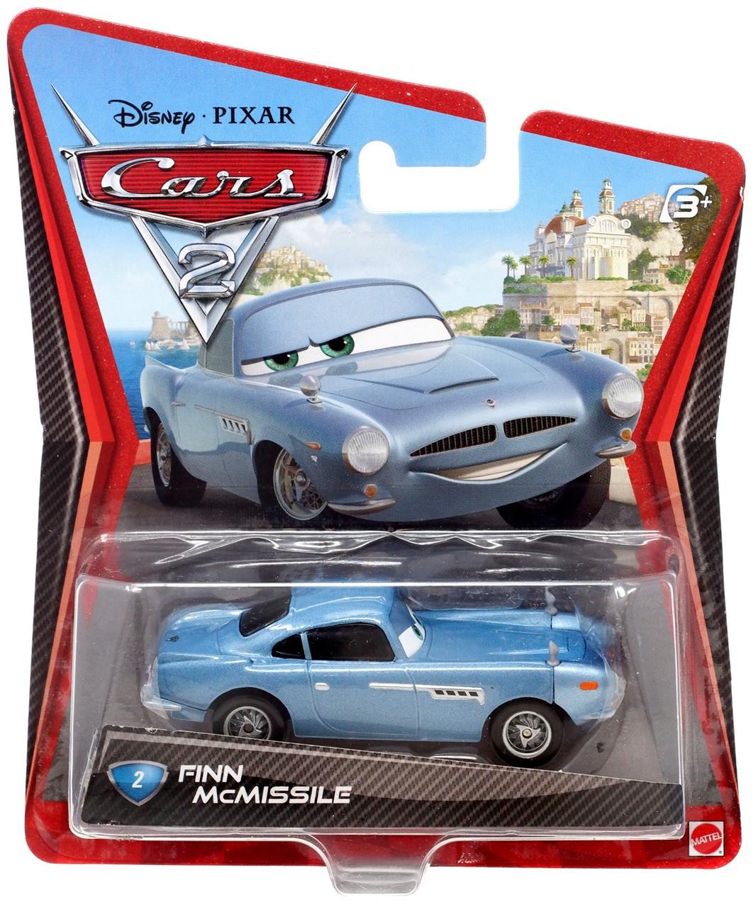 Finn Mcmissile Giocattolo Mattel Disney 1 55 Cars Auto: Disney Pixar Cars Cars 2 Main Series Finn McMissile 155