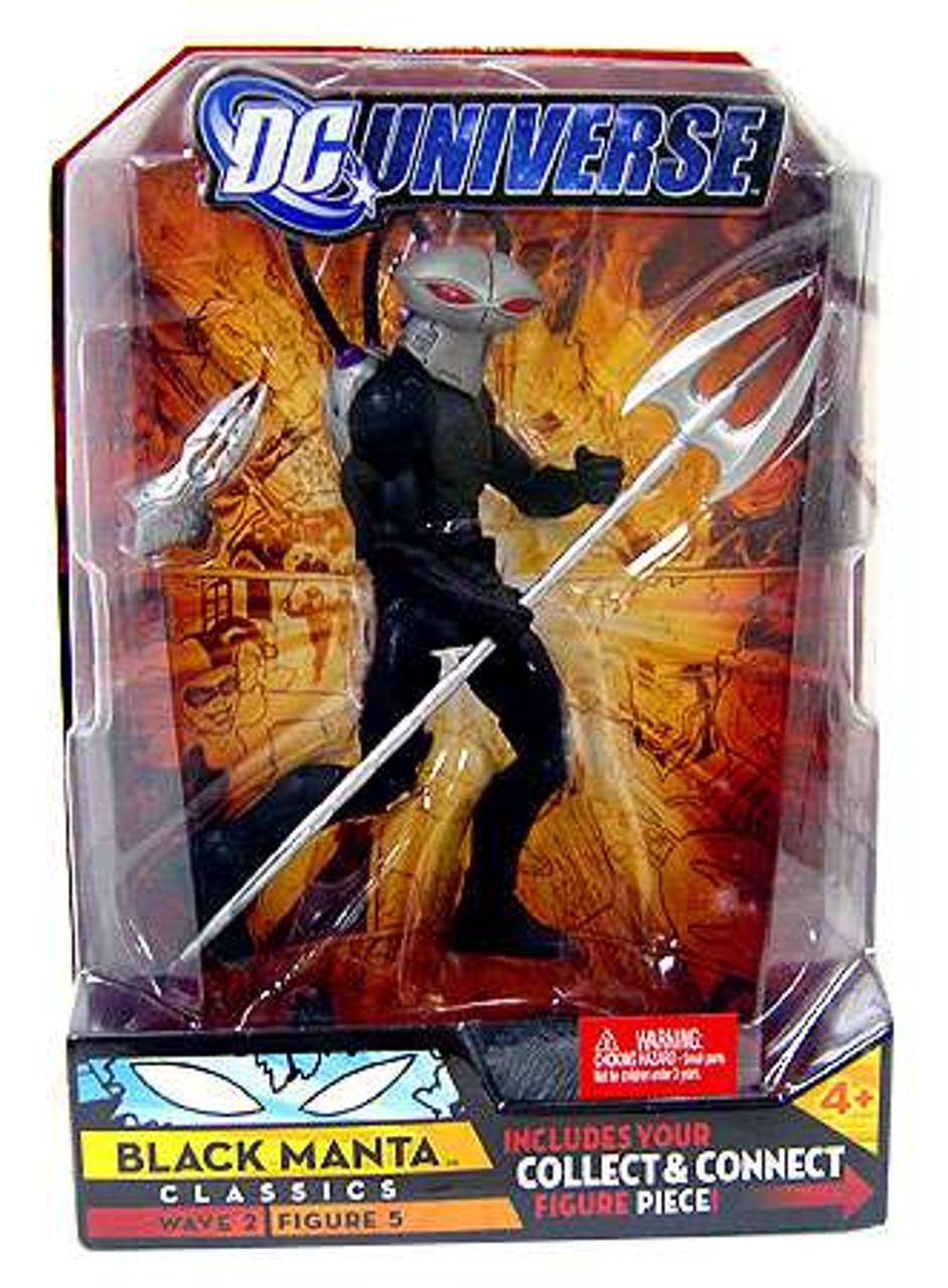 DC Universe Total Heroes Justice League Black Manta Loose Action Figure