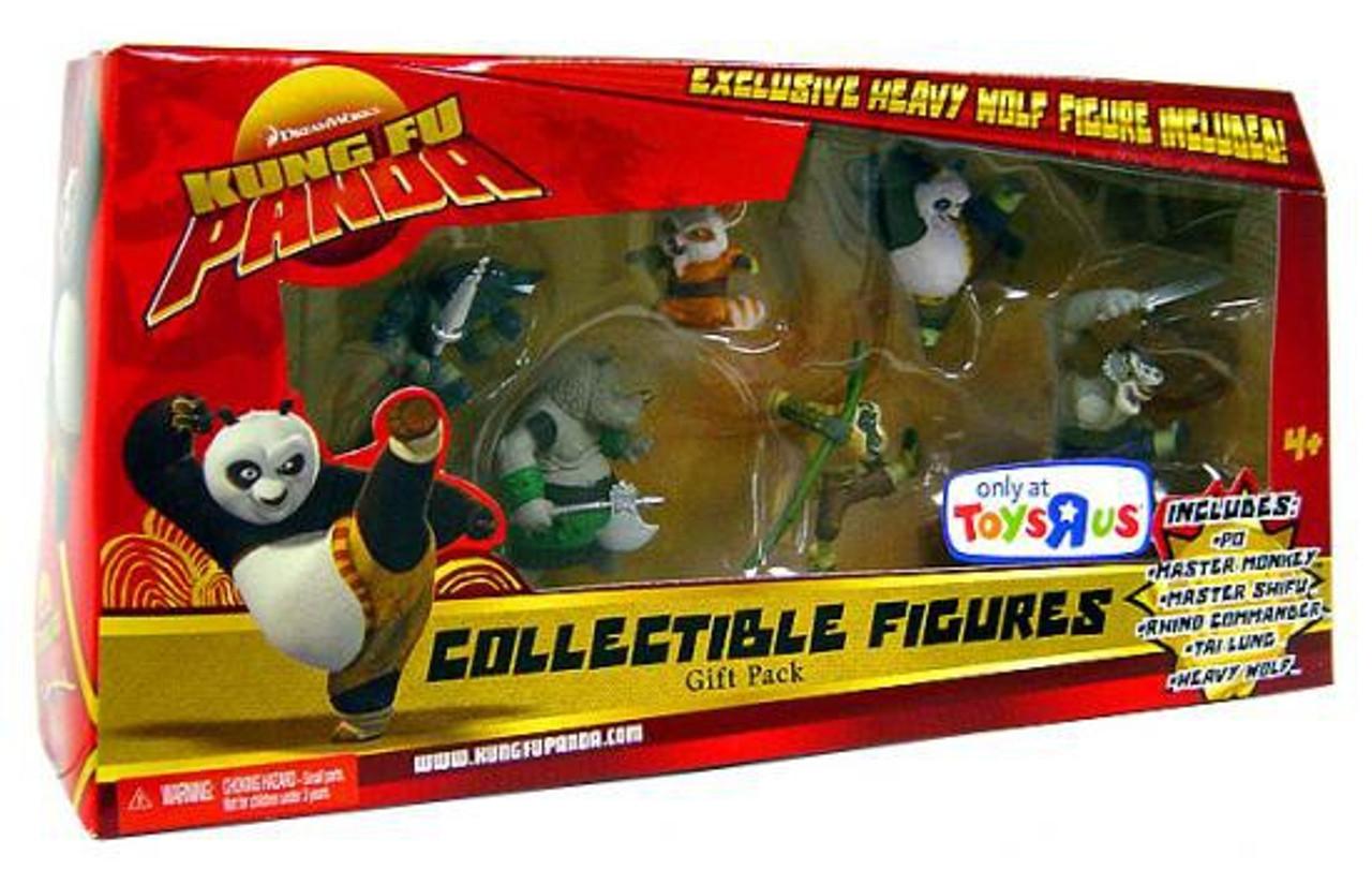 Kung Fu Panda Tai Lung 5 Action Figure Spear Assault