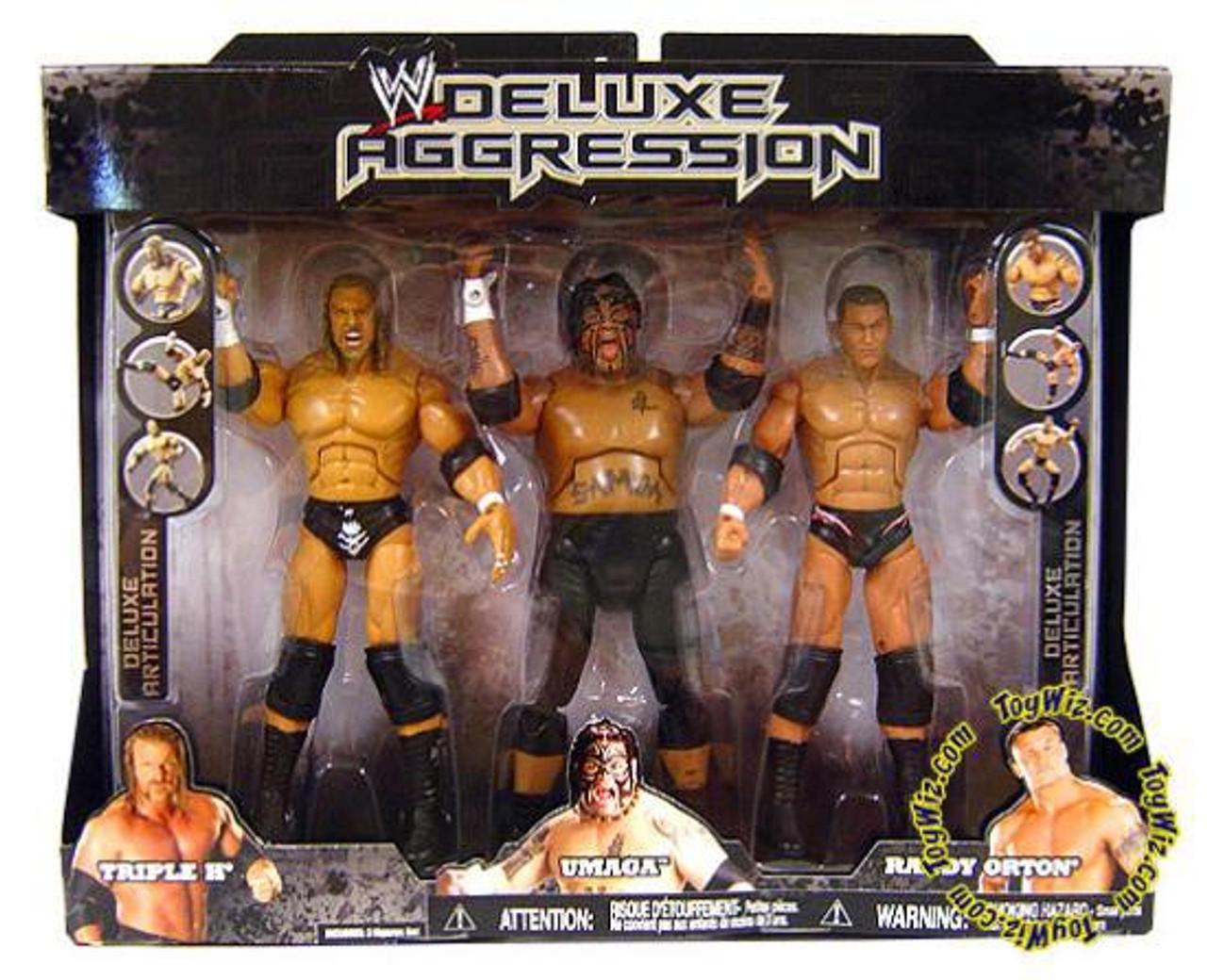 Mint Package Triple H WWE Jakks Classic Superstars Series 24 Action Figure