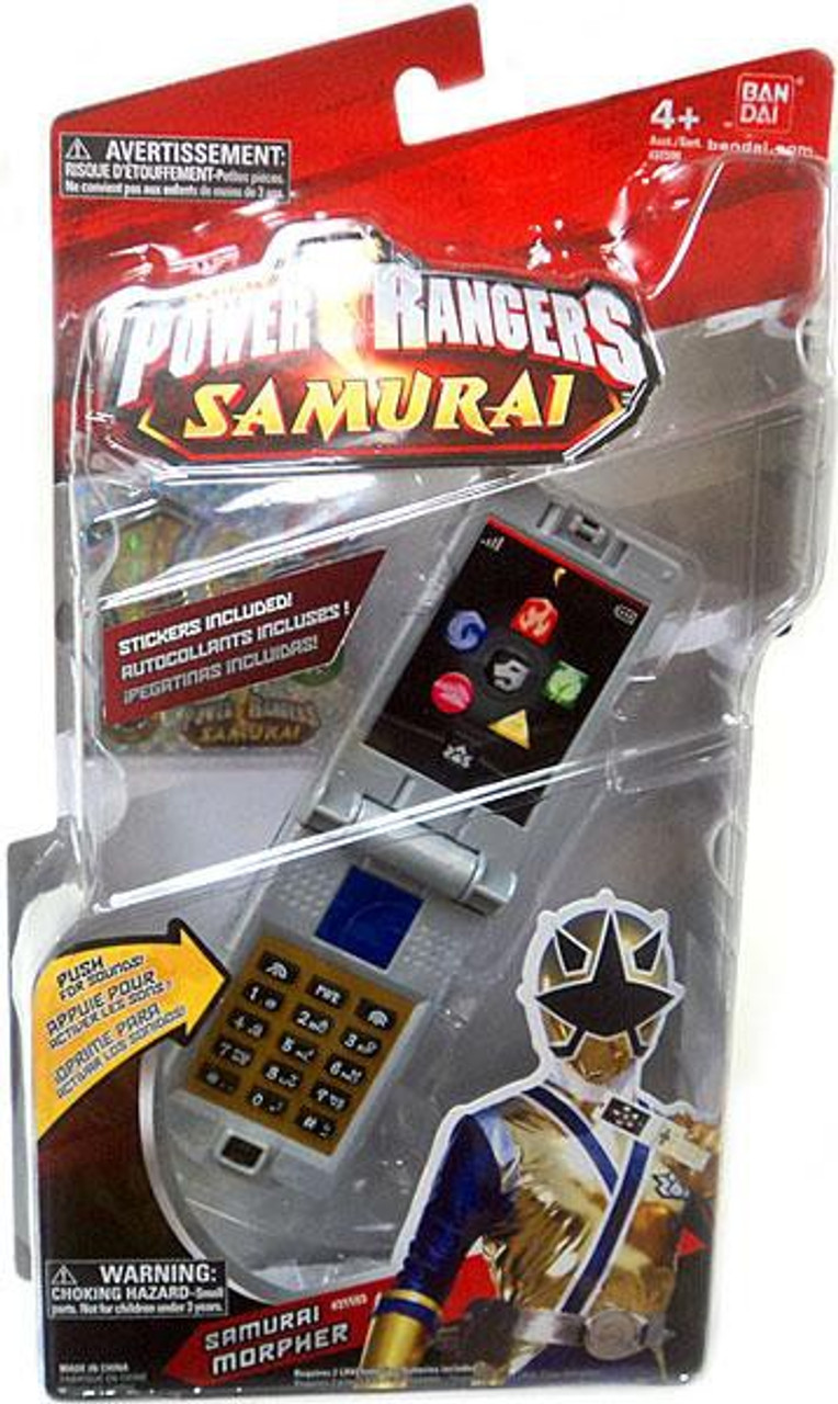 Power Rangers Samurai Samurai Morpher Roleplay Toy Bandai ...