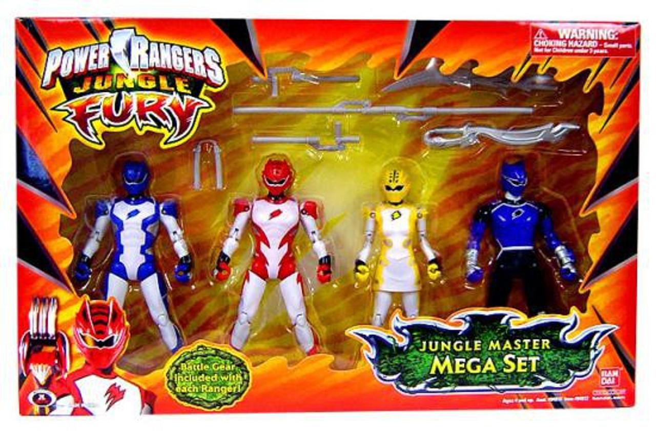 Power Rangers Jungle Fury Action Figure Jungle Master Rhino Ranger Bandai
