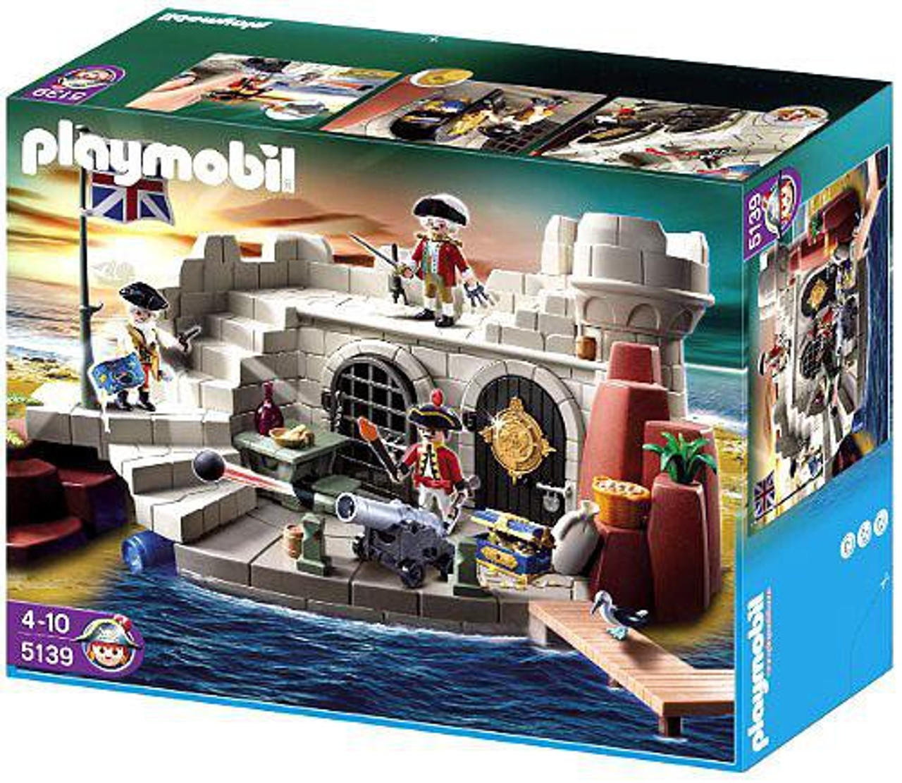 PLAYMOBIL Pirate Fort SuperSet Building Set Toys Games