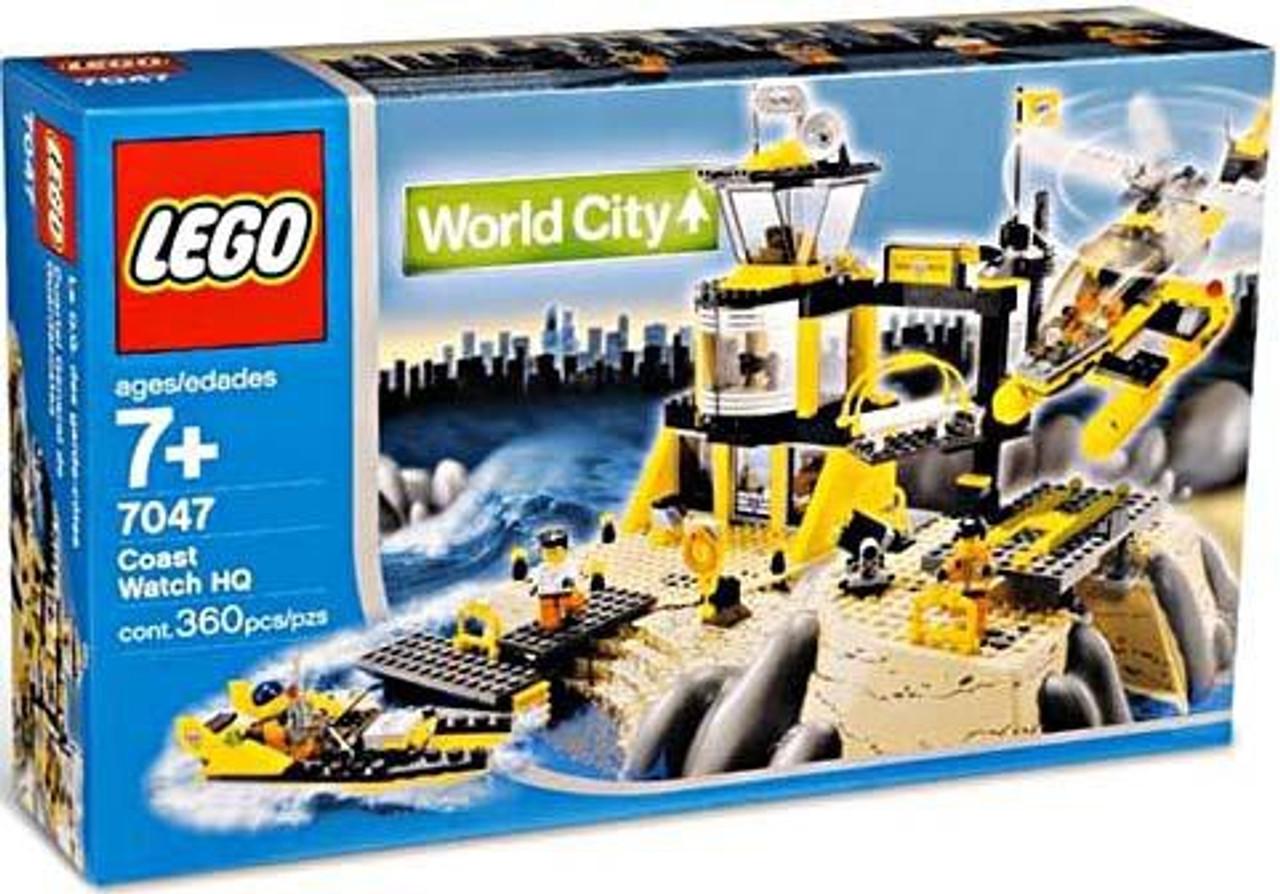 Lego World City Coast Watch Hq Set 7047 Toywiz