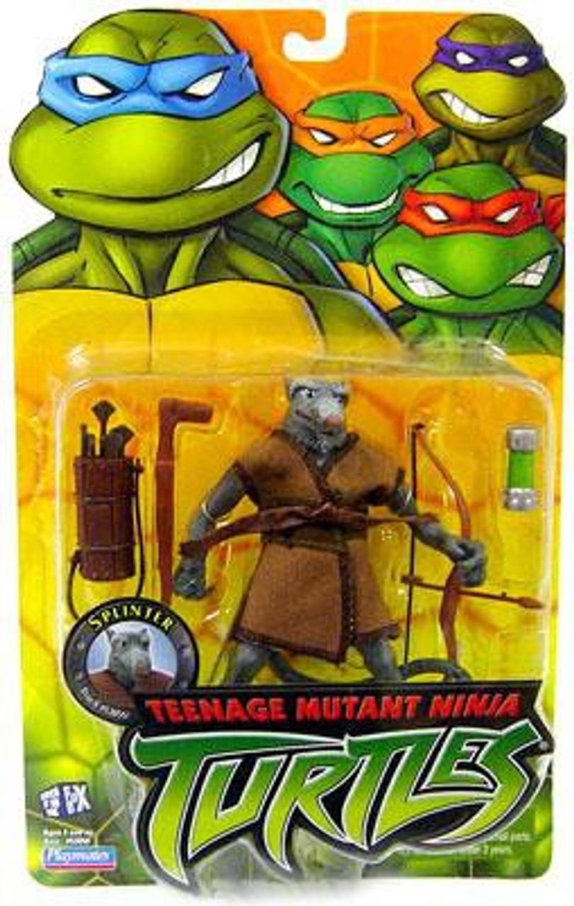 Teenage Mutant Ninja Turtles 2003 Splinter 5 Action Figure Playmates Toywiz