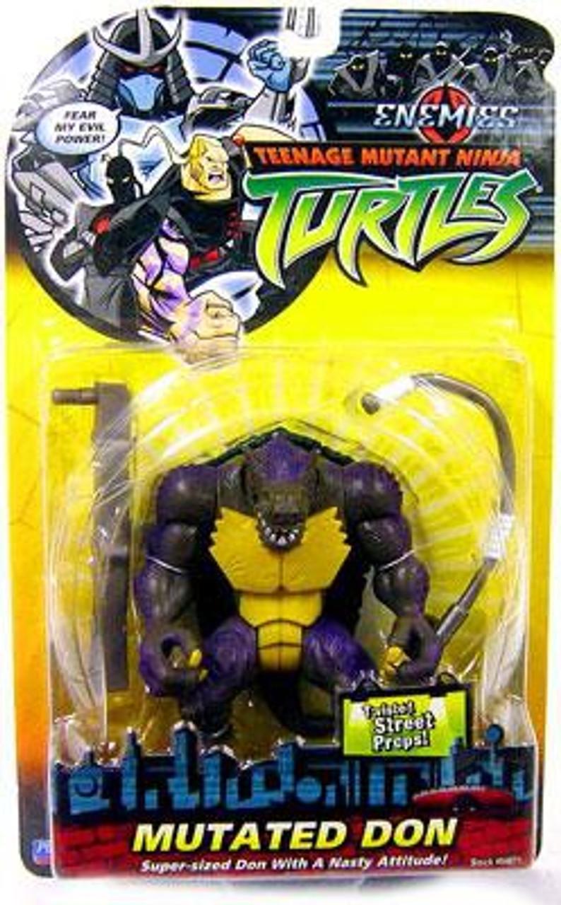 Teenage Mutant Ninja Turtles 2003 Enemies Mutated Don Action Figure Playmates Toywiz