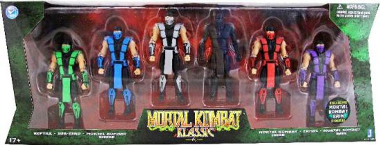 Mortal Kombat Klassic Action Figure 6-Pack