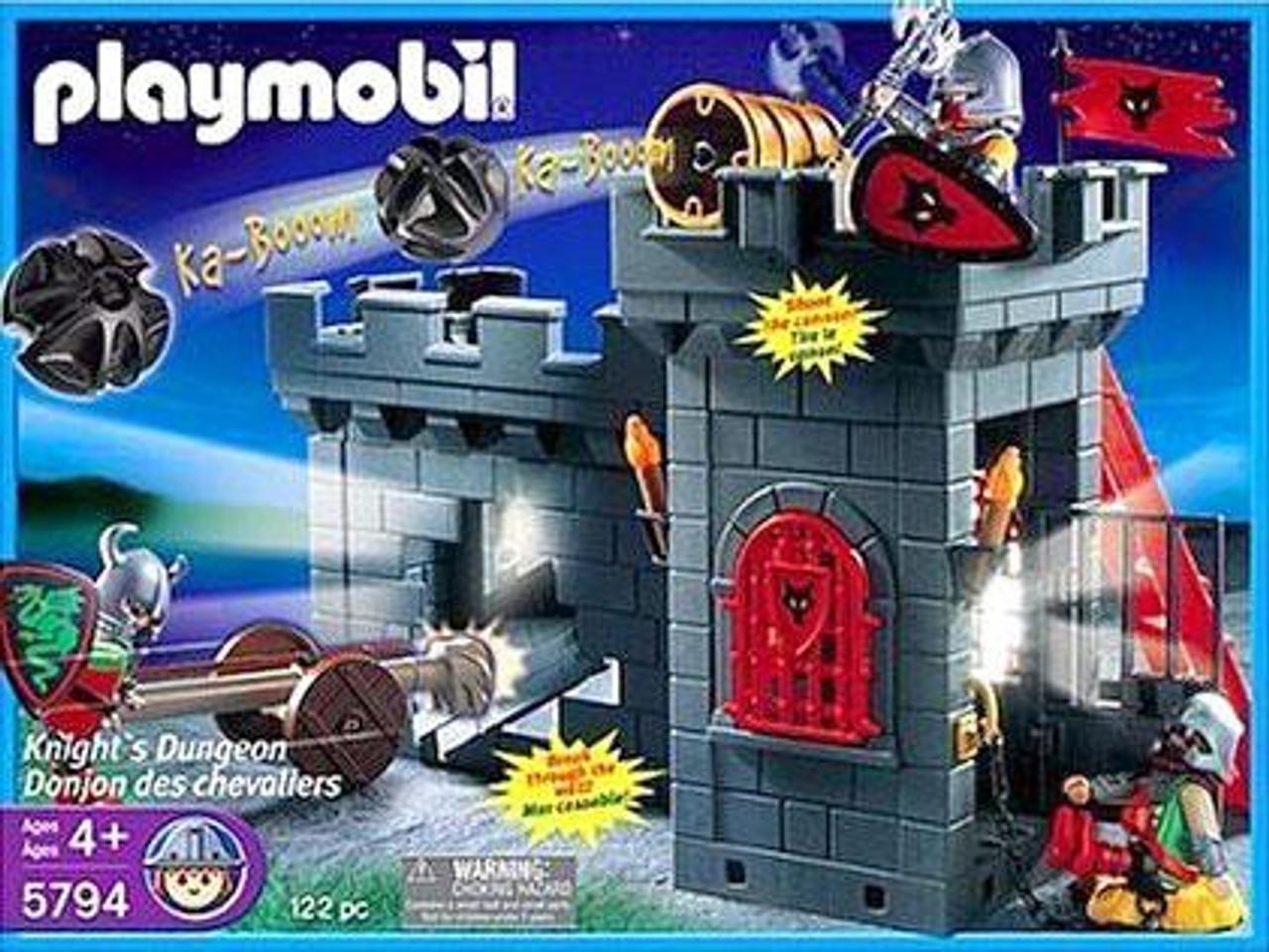 Playmobil Dragon Land Knights Dungeon Set 5794 - ToyWiz