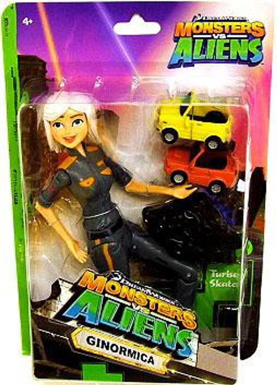 Monsters Vs Aliens Ginormica Action Figure Dreamworks Animation Toywiz