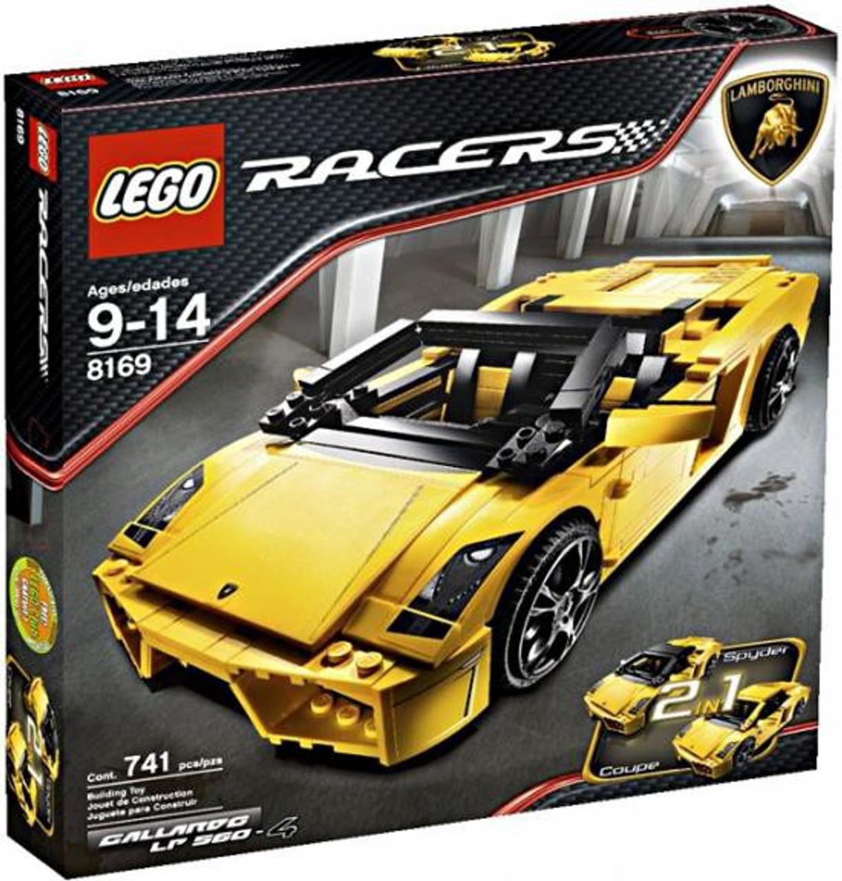 Lego Racers Lamborghini Gallardo Lp 560 4 Set 8169 Toywiz